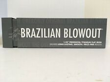 "BRAZILIAN BLOWOUT PROFESSIONAL 1.25"" TITANIUM DIGITAL FLAT IRON (AUTHENTIC)"