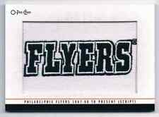 2013-14 O-PEE-CHEETEAM LOGO PATCHES 1967-68 TO PRESENT (SCRIPT) CS PHILADELPHIA