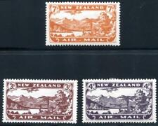 New Zealand C1-3 Mint Hinged air mail, plane