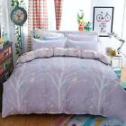 Single Double Queen King Size Bed Set Pillowcase Quilt/Duvet Cover Tree Life L