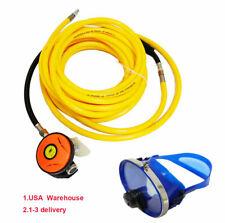 2nd Stage Regulator W/100ft Hose Scuba Snorkeling Mask W/Anti-Fog Glass Lens USA