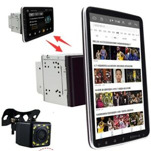 "Doppel 2DIN Drehbar 10.1"" Android 9.1 Touchscreen Autoradio Radio GPS Wifi"