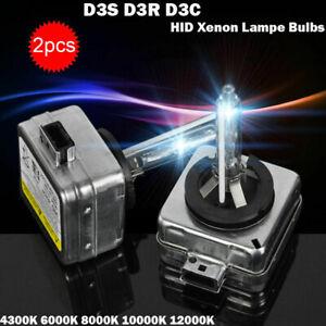 2 AMPOULES D3S 35W POUR AUDI KIT HID LAMPE XENON 6000K 8000K feux