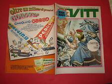 SETTIMANALE VITT N°43-NOVEMBRE 1969 CON INSERTO VITT AVVENTURA NUMERO 43