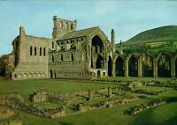 MELROSE ABBEY, CHURCH & RUINED CLOISER POSTCARD - UNUSED