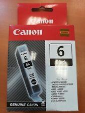 CANON CARTOUCHE ENCRE BCI 6BK  BLACK IP4000 5000 MP 750 ..ETC
