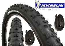 2 pneus VTT + 2 chambres à air MICHELIN Country Cross 26 x 1.95 vélo MTB NEUF