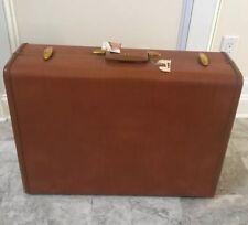 Vintage Samsonite Luggage Suitcase Shwayder Brothers, 4636, Tan with Key