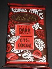 3 x Perle d'Or Belgium Dark chocolate  61% Cacao (3 x 100g ) New