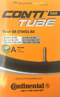 Continental 28 Tour All Fahrradschlauch für 32-47-622 mit Autoventil 40 mm