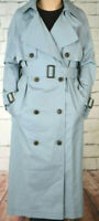 NEXT RRP £65 LADIES UK 12 PETITE BLUE BELTED TRENCH COAT NEW