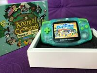 Nintendo Game Boy Advance GBA USED DIY IPS highlighted display Animalcamp  style