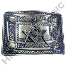New Men's Highland Kilt Belt Buckle Masonic Antique Finish/Celtic Belt Buckles