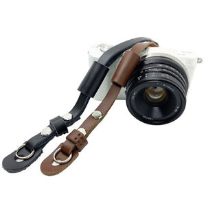 Wrist Band Genuine Leather Camera Wrist Straps Cameras Gear Sonya Handmade LL