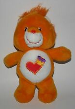 "Care Bear Cousins Brave Heart Lion 13"" excellent stuffed animal plush"