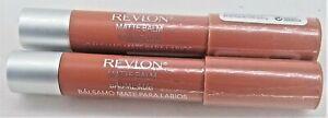 2 Revlon Matte Balm 255 Enchanting Ravissante Lipstick LipColor Makeup Lip Stain
