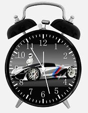 "BMW Race Car Alarm Desk Clock 3.75"" Home or Office Decor E242 Nice For Gift"