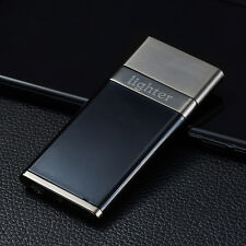 Black USB Electronic Rechargeable Battery Fashion Cigarette Lighter