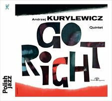 CD ANDRZEJ KURYLEWICZ Quintet Go Right  / Polish Jazz  / remastered 2016