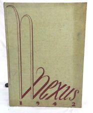 1942 HOFSTRA COLLEGE YEARBOOK (HEMPSTEAD, NY/*NEXUS*/ORIGINAL YEARBOOK)