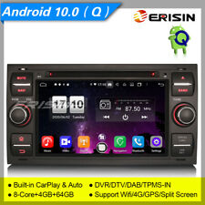 Android 10 Car DVD Player Ford Focus Fiesta C-Max S-Max Transit DAB+DVR DSP 8766