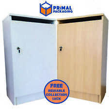 More details for confidential waste cabinet with lock and paper slot + free collection sack