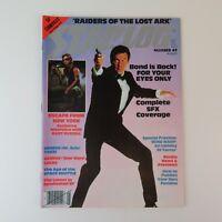 Starlog August 1981 #49 SciFi Magazine - Bond Star Wars Star Trek Indiana Jones