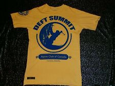 EUC Deft Family Summit Canada Mountain Climb Club Highlands Logo T-Shirt Alpine