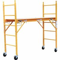 Horizon Tools 6ft Baker-Style Scaffold- 1000-Lb. Capacity, Steel