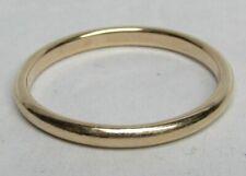 RARE LARGE SIZE 14.5 MENS 14K GOLD WEDDING BAND / RING