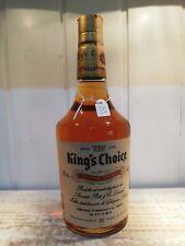 King's Choice 75cl 43% imp.P.soffiantino & co anni 60