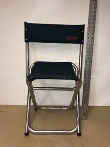 Vintage Coleman Camp Chair Folding Lightweight Aluminum Canvas  Camping