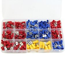 Assorted Insulated Electrical Wire Terminals Crimp Connectors Spade Set 280pcs
