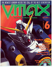 V-MAX The Anime & Manga Journal Volume 2 No. 6 R. Talsorian Import Out of Print