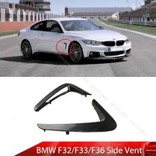 Painted For BMW F32 F33 F36 Side Vent Fender Dust 2014-2018 428i 440i 430i