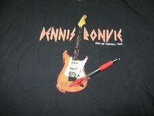 Dennis Bonvie 2007-2008 Farewell Tour XL Black Shirt Double Sided