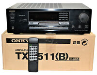 Onkyo TX-8511 (B) Amplifier Home Theater Receiver With Remote & Box Bundle