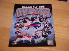 Buffalo Bills Greats Officially LICENSED 8X10 Photo  FREE SHIPPING 3 or more