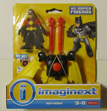 IMAGINEXT DC Super Friends RED ROBIN With Glider ~ Fisher-Price