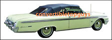 FORD GALAXIE & MERCURY MONTEREY, PARK LANE CONVERTIBLE TOP DOITYRSELF PKG 61-62