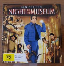Night At The Museum (DVD, 2007) Ben Stiller, Carla Gugino, Ricky Gervais