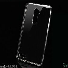 GLOSSY CLEAR TRANSPARENT SOFT TPU SKIN GEL CASE SLIM COVER FOR ZTE ZMAX PRO Z981