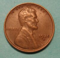1935-D Lincoln Wheat Cent in Average Circulated Condition DUTCH AUCTION