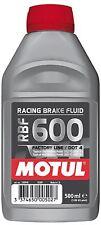 Motul RBF600 Fully Synthetic Racing Motorsport Brake Fluid Dot 4 500ML