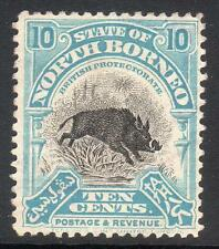 North Bornean Stamps without Gum