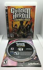 Guitar Hero III 3 Legends of Rock - Complete - Excellent Cond.-Playstation 3 PS3