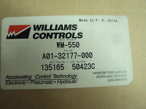 FREIGHTLINER PEDAL KIT A01-32177-000  WILLIAMS CONTROL WM550 A01-32177-000