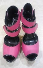 PRIVILEGED Women's pink and black high heel shoes Size 6.5