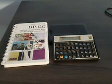 Vintage Original HP 12C Financial Calculator - With Case/Manual - Made in USA