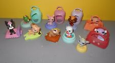 LPS Littlest Pet Shop Mixed lot of Mcdonalds Happy Meal Toys Dogs Squirrel Frog